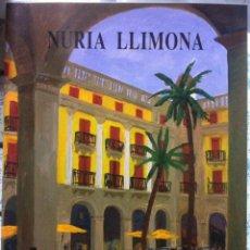 Arte: 2 CATALOGOS DE NURIA LLIMONA. SALA NONELL. 1993. Lote 93885810