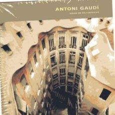 Arte: ANTONI GAUDI. IGNASI DE SOLA-MORALES. BARCELONA: EDICIONES POLIGRAFA, 2008. . Lote 93975030