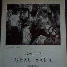 Arte: GRAU SALA. SALA PARES. BARCELONA. 1966. Lote 94139915