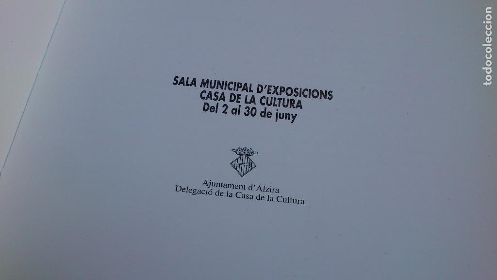 Arte: PINTURES · OBJECTES - CATÁLOGO DE JOAN VERDÚ - EXPOSICIÓN ALZIRA 8 - 1995 - BUEN ESTADO - Foto 3 - 94156620