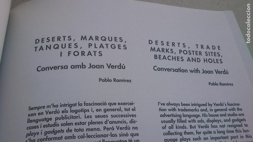 Arte: PINTURES · OBJECTES - CATÁLOGO DE JOAN VERDÚ - EXPOSICIÓN ALZIRA 8 - 1995 - BUEN ESTADO - Foto 9 - 94156620