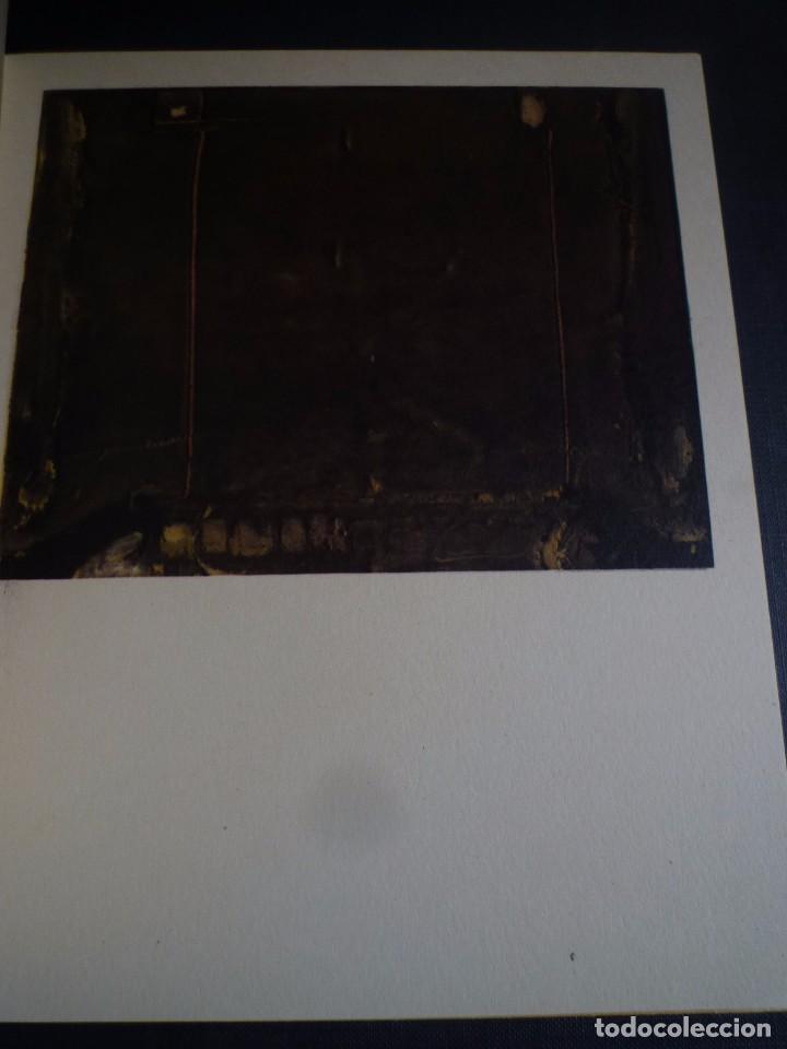 Arte: TÀPIES 4 OBRAS RECIENTES. SALA GASPAR. BARCELONA. 1961 - Foto 2 - 94239560