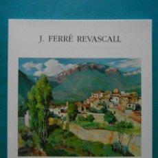 Arte: J. FERRE REVASCALL 1994. DIPUTACIO DE TARRAGONA. Lote 94670591