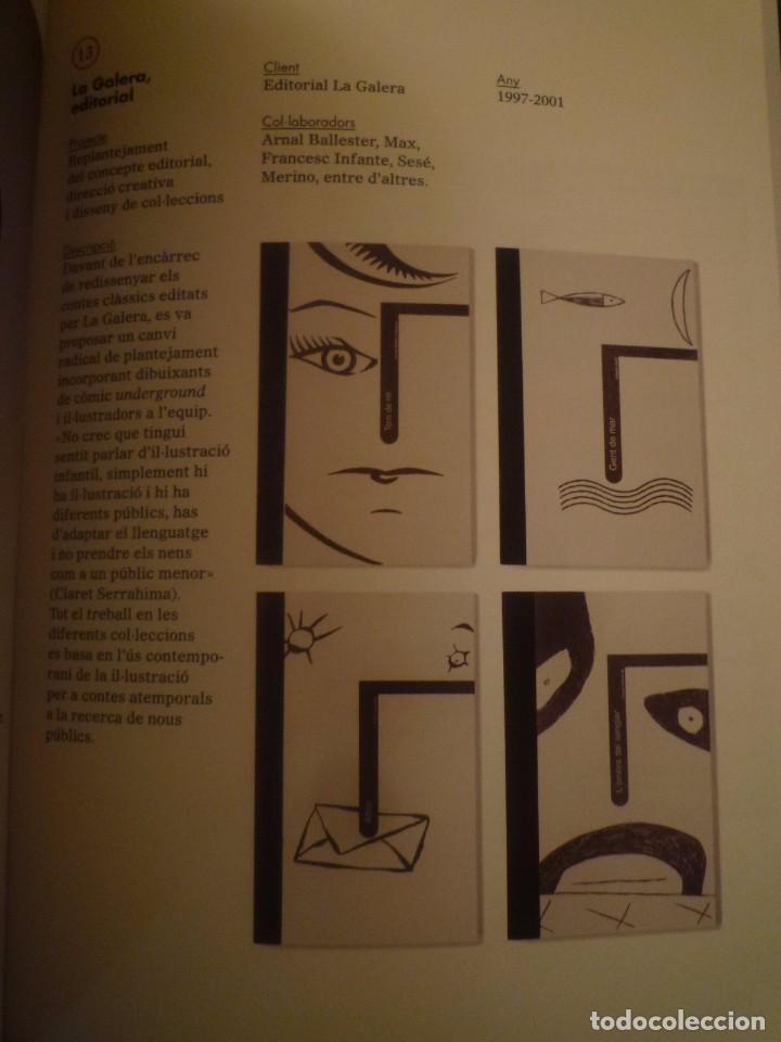 Arte: CLARET SERRAHIMA. DE CAP A PEUS. DISSENY GRÀFIC FET DES DE BARCELONA. ARTS SANTA MÒNICA. BARCELONA. - Foto 3 - 94753107