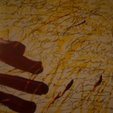 Arte: ANTONI TÀPIES. TAPISSOS. GOUACHES. SALA GASPAR. BARCELONA. 1971. Lote 178655906