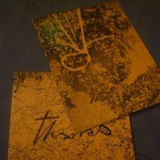 Arte: JOAN-JOSEP THARRATS. PINTURES. SALA GASPAR. BARCELONA. 1973. Lote 183812536
