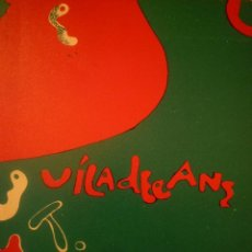 Arte: JOAN-PERE VILADECANS. PINTURAS Y DIBUJOS. SALA PELAIRES. PALMA DE MALLORCA. 1972. TEXTO MORENO GALVA. Lote 94945599