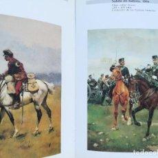 Arte: LIBRO-JOSE CUSACHS 1851-1908-HOMENAJE PINTOR MILITAR,SOLO 1000 EJEMPLARES,PINTURA SOLDADOS,CABALLOS. Lote 94955435