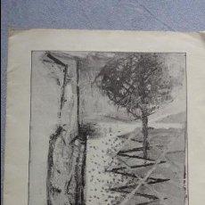 Arte: JOAN BENNASSAR.CENTRO DE LECTURA.SALA FORTUNY.REUS.TARRAGONA.1984. Lote 94957927