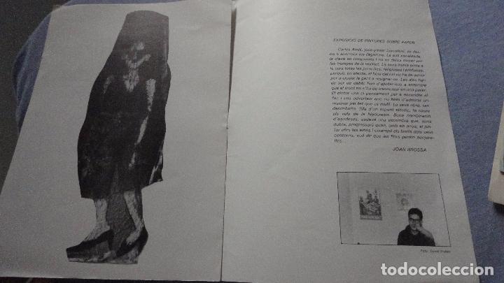 AMILL.EXPOSICION DE PINTURA.CENTRO DE LECTURA.SALA FORTUNY.REUS.TARRAGONA.1984 (Arte - Catálogos)
