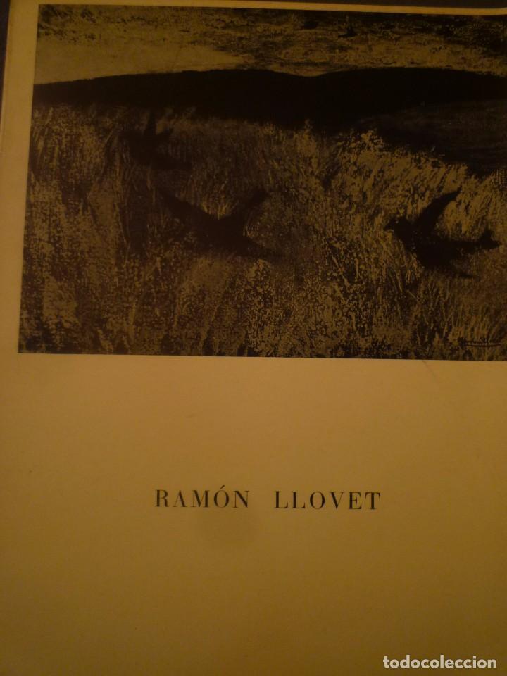 RAMÓN LLOVET. SALA GASPAR. BARCELONA. 1968. POEMA RAFAEL SANTOS TORROELLA (Arte - Catálogos)
