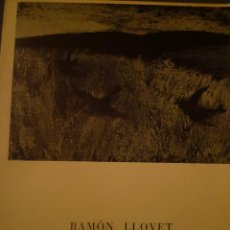 Arte: RAMÓN LLOVET. SALA GASPAR. BARCELONA. 1968. POEMA RAFAEL SANTOS TORROELLA. Lote 94962171