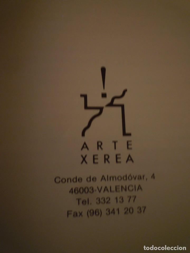 Arte: BONIFACIO. ARTE XEREA. VALENCIA. 1989 - Foto 6 - 95316075