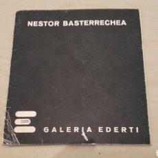 Arte: NÉSTOR BASTERRECHEA. EXPOSICIÓN EN GALERÍA EDERTI BILBAO (ABRIL 1975). DIAPOSITIVAS.. Lote 96075304