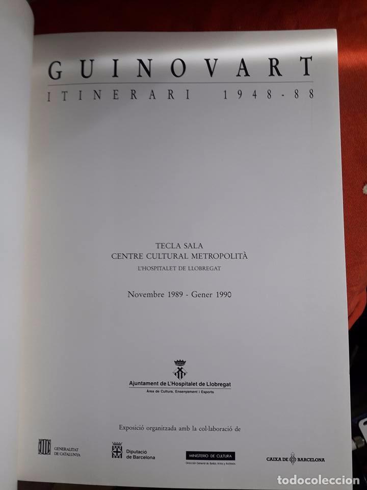 Arte: JOSEP GUINOVART. ITINERARI 1948-1988. CATÁLOGO TECLA SALA. HOSPITALET DE LLOBREGAT, 1989-1990 - Foto 5 - 96311347