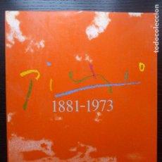 Arte: PICASSO 1881-1973. EXPOSICION ANTOLOGICA M.ARTE CONTEMPORANEO MADRID 1981 444PP. Lote 96490503