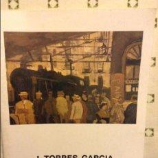 Arte: JOAQUÍN TORRES GARCÍA. EXPOSICIÓN EN GALERÍA DAU AL SET EN ABRIL DE 1986 (BARCELONA). Lote 237698535