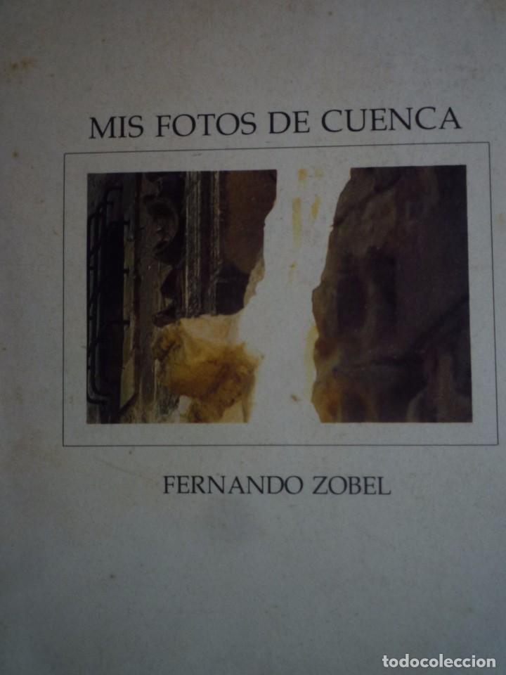 FERNANDO ZOBEL. FOTOLIBRO. FOTOGRAFÍA. MIS FOTOS DE CUENCA. MUSEO DE ARTE ABSTRACTO. 1975 (Arte - Catálogos)