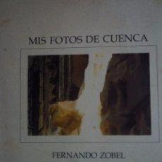 Arte: FERNANDO ZOBEL. FOTOLIBRO. FOTOGRAFÍA. MIS FOTOS DE CUENCA. MUSEO DE ARTE ABSTRACTO. 1975. Lote 96950951