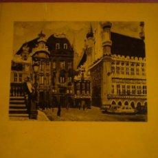 Arte: FREDERIC LLOVERAS. PINTURAS. SALA GASPAR. BARCELONA. 1971. . Lote 96952591