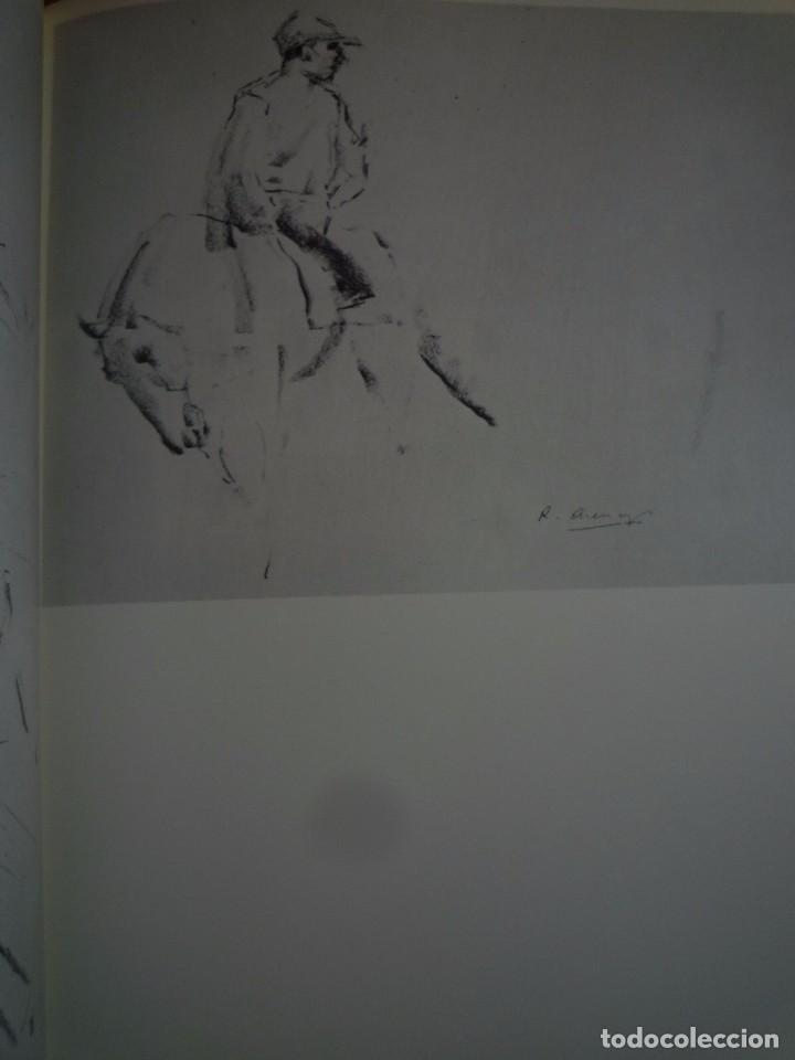 Arte: RICARD ARENYS. PINTURAS. DIBUJOS. GOUACHES. ACUARELAS. CABALLOS. SALA GASPAR. BARCELONA. 1978. - Foto 4 - 96953151