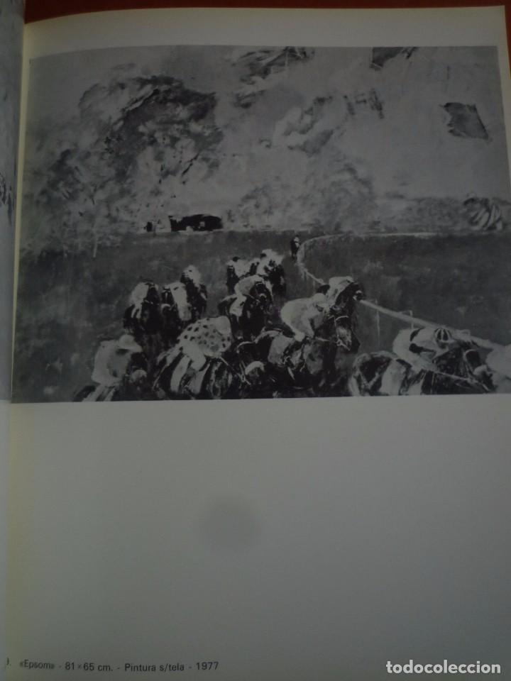 Arte: RICARD ARENYS. PINTURAS. DIBUJOS. GOUACHES. ACUARELAS. CABALLOS. SALA GASPAR. BARCELONA. 1978. - Foto 5 - 96953151