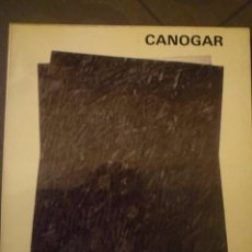 Arte: RAFAEL CANOGAR. RETROSPECTIVA 1957-1980. SALA LUZÁN. 1980. TEXTOS AGUILERA CERNI. J.E. CIRLOT. Lote 97059079