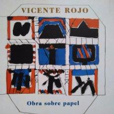 Arte: VICENTE ROJO. OBRA SOBRE PAPEL. MUSEO NACIONAL CENTRO DE ARTE REINA SOFÍA. Lote 97347955