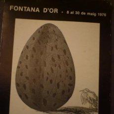 Arte: DAVID HOCKNEY. OBRA GRÁFICA 1961-1974. FONTANA D'OR. GIRONA. 1976. CONVERSACIÓN PIERRE RESTANY. . Lote 97349203