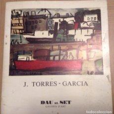 Arte: JOAQUIN TORRES GARCIA DAU AL SET 1976. Lote 97459075