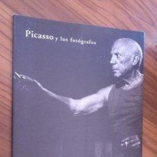 Arte: PICASSO Y LOS FOTÓGRAFOS. CATÁLOGO DE LA EXPOSICIÓN EN 1995. RUSTICA. LOMO. BUEN ESTADO. RARO. Lote 97923795