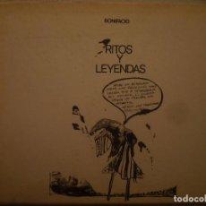 Arte: BONIFACIO. RITOS Y LEYENDAS. GALERIA VAL I 30. VALENCIA. 1975. Lote 97947351