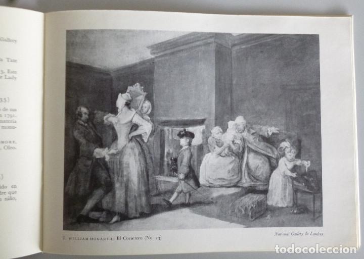 Arte: CIEN AÑOS DE PINTURA BRITANICA 1730-1830 // BRITISH COUNCIL // 1949 // IMPRESO EN THE CURWEN PRESS - Foto 3 - 97994115
