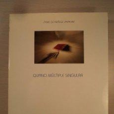Arte: QIJANO MÚLTIPLE SINGULAR. GONZÁLEZ LAVAGNE D´ORTIGUE, JAIME. 2007. ISBN 8496189244.. Lote 98665287