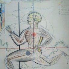 Arte: OSKAR SCHLEMMER. MUSEO NACIONAL CENTRO DE ARTE REINA SOFÍA 1996-1997. Lote 98672435