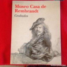 Arte: CATÁLOGO DEL MUSEO CASA DE REMBRANDT, GRABADOS, 1998, 168 PAGINAS, ENCUADERNADO EN RUSTICA.. Lote 98680499