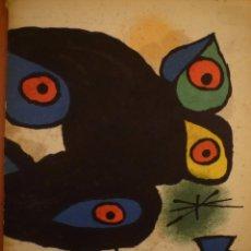 Arte: JOAN MIRO. CHILLIDA. PALAZUELO. GALERIA MAEGHT. EXPO. INAUGURACIÓN EN BARCELONA. 1974. Lote 195145861