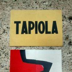 Arte: 2 INVITACIONES EXPOSICIONES TAPIOLA Y VARIOS ESCULTORES AÑOS 70. Lote 99354803