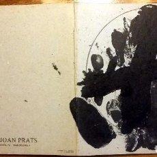 Arte: INVITACIÓN GALERIA JOAN PRATS - U NO ES NINGÚ 1979. Lote 99467843