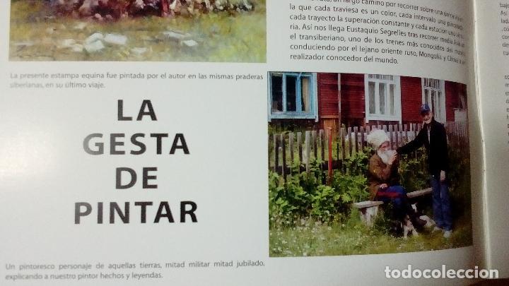 Arte: EUSTAQUIO SEGRELLES. CATÁLOGO DE EXPOSICIÓN EN CASINO DE ALICANTE. 2009. FIRMADO Y DEDICADO. - Foto 4 - 99906383