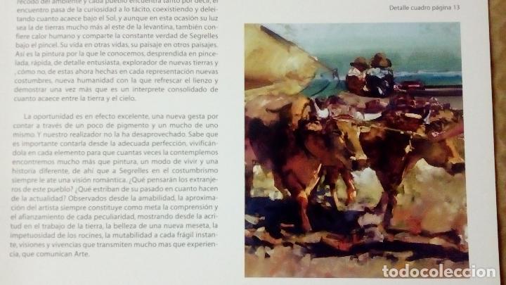 Arte: EUSTAQUIO SEGRELLES. CATÁLOGO DE EXPOSICIÓN EN CASINO DE ALICANTE. 2009. FIRMADO Y DEDICADO. - Foto 5 - 99906383