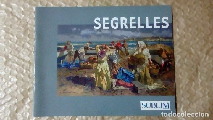 Arte: EUSTAQUIO SEGRELLES. CATÁLOGO DE EXPOSICIÓN EN CASINO DE ALICANTE. 2009. FIRMADO Y DEDICADO. - Foto 10 - 99906383