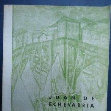 Arte: 1963 JUAN DE ECHEVARRIA CÍRCULO DE BELLAS ARTES MADRID. Lote 100046971