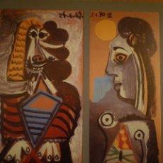 Arte: DONACIÓ PABLO VILATÓ. HOMENATGE A LA FAMÍLIA RUIZ PICASSO. MUSEU PICASSO. BARCELONA. 1988. Lote 100117447