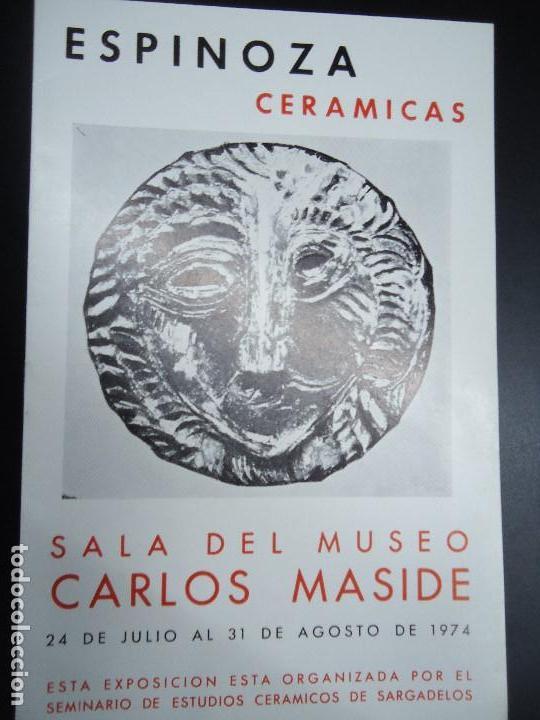 espinoza cer micas 1974 cat logo museo carlos m comprar On ceramicas castro catalogo