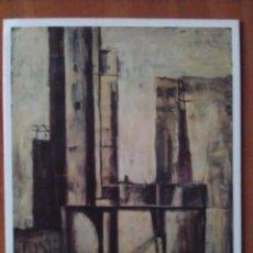 Arte: 1993 TARJETA DE EXPOSICIÓN DE BRUNO FONSECA - NEW YORK. Lote 100393899