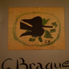 Arte: GEORGES BRAQUE. OBRA GRÀFICA COMPLETA 1907-1963. GALERIA MAEGHT. BARCELONA. 1987. Lote 100458023
