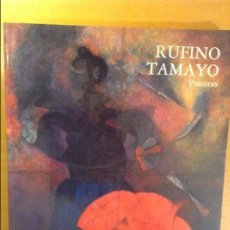 Arte: RUFINO TAMAYO. PINTURAS - CENTRO DE ARTE REINA SOFIA - AÑO 1988. Lote 100657787