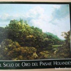 Arte: EL SIGLO DE ORO DEL PAISAJE HOLANDÉS - THYSSEN-BORNEMISZA - BANCO CENTRAL HISPANO - PETER C. SUTTON. Lote 100760287