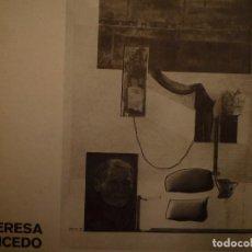 Arte: TERESA GANCEDO. GALERIA VAL I 30. VALENCIA. 1976. Lote 102168247